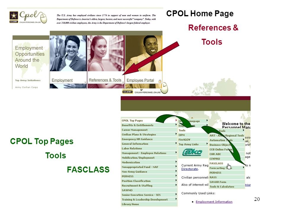 CPOL Home Page References & Tools CPOL Top Pages Tools FASCLASS