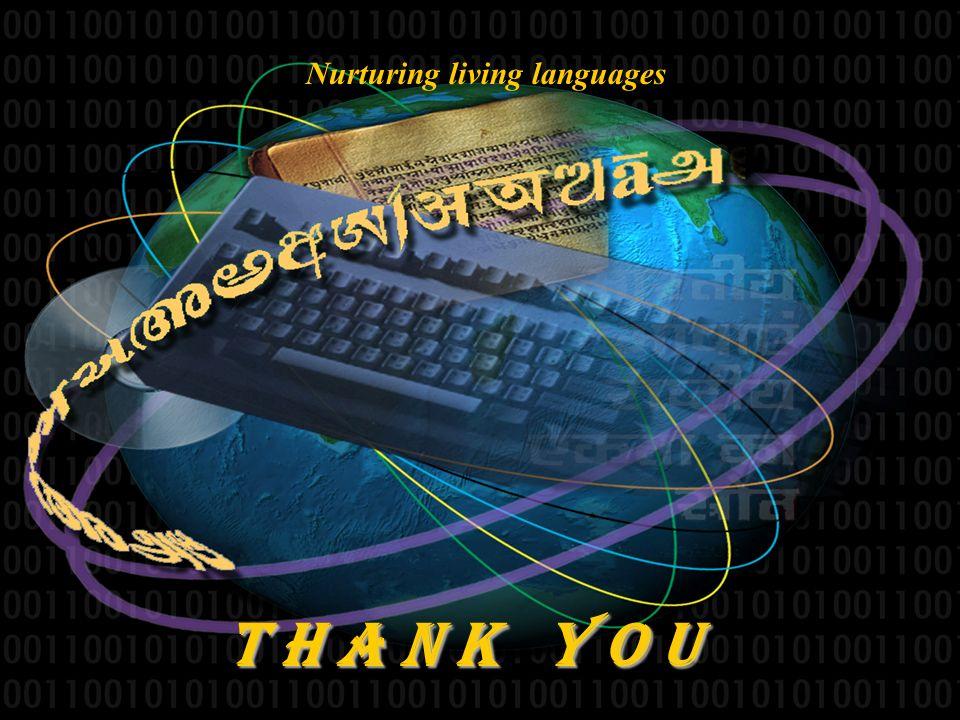 Nurturing living languages