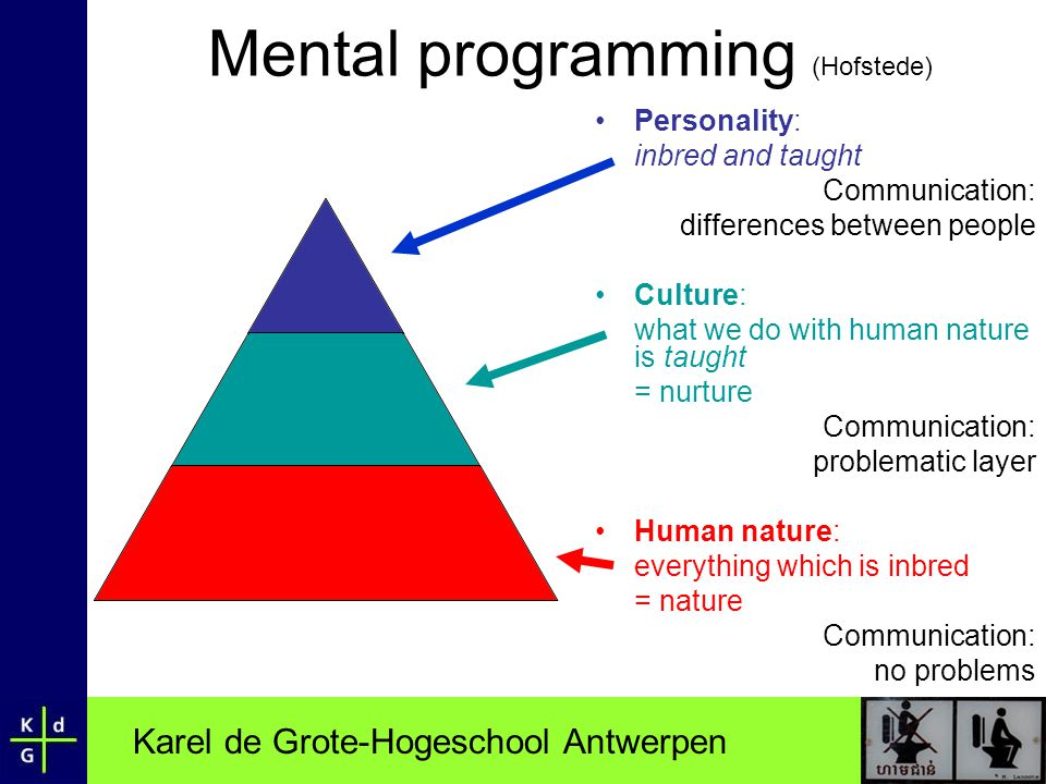 Mental programming (Hofstede)