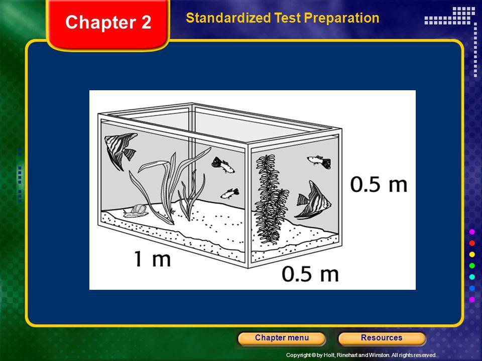 Chapter 2 Standardized Test Preparation