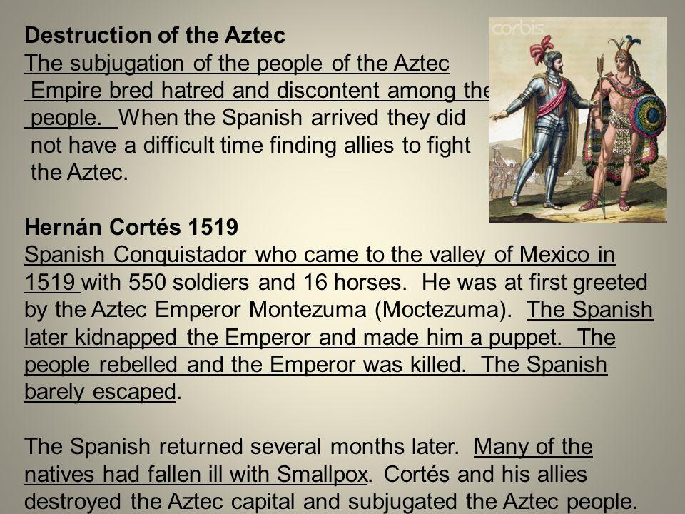Destruction of the Aztec