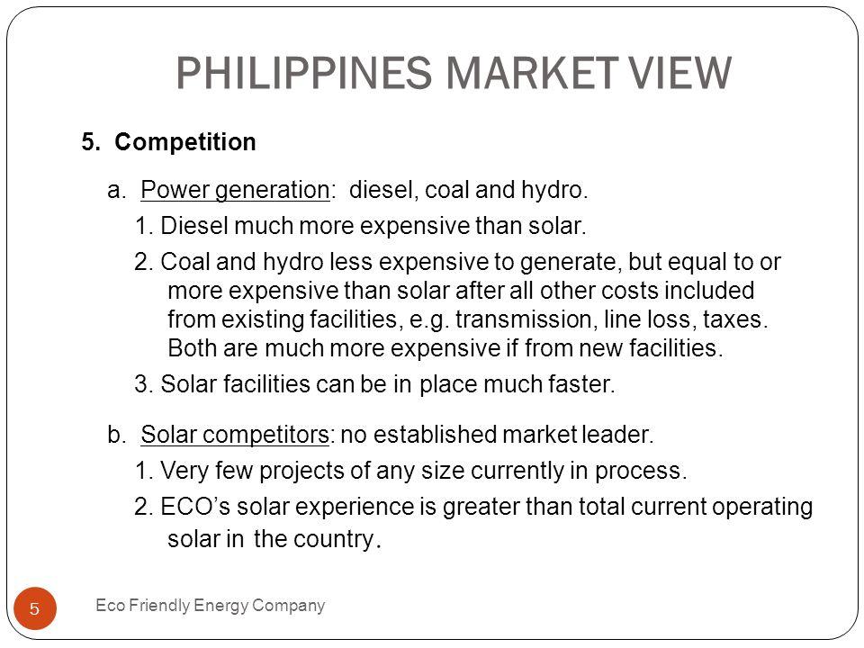 PHILIPPINES MARKET VIEW