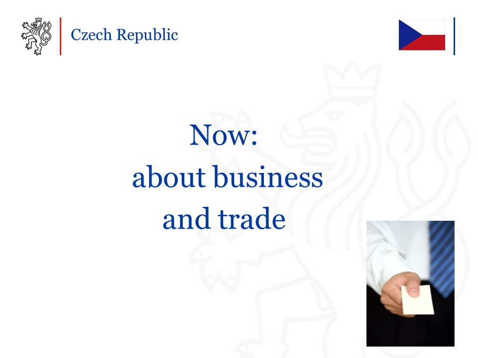 Now: about business and trade