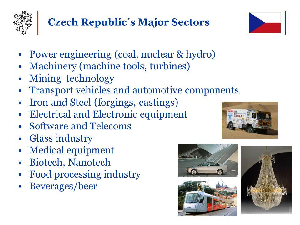 Czech Republic´s Major Sectors