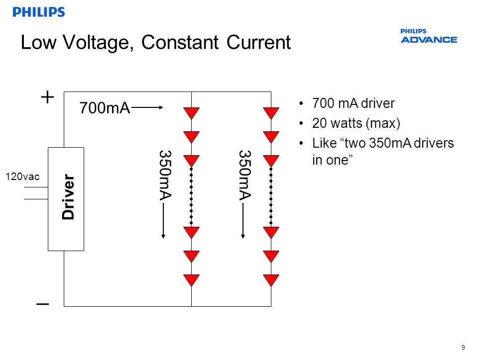 Low Voltage, Constant Current