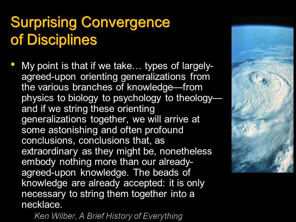 Surprising Convergence of Disciplines