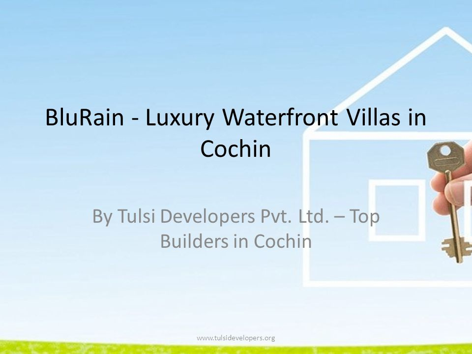 BluRain - Luxury Waterfront Villas in Cochin