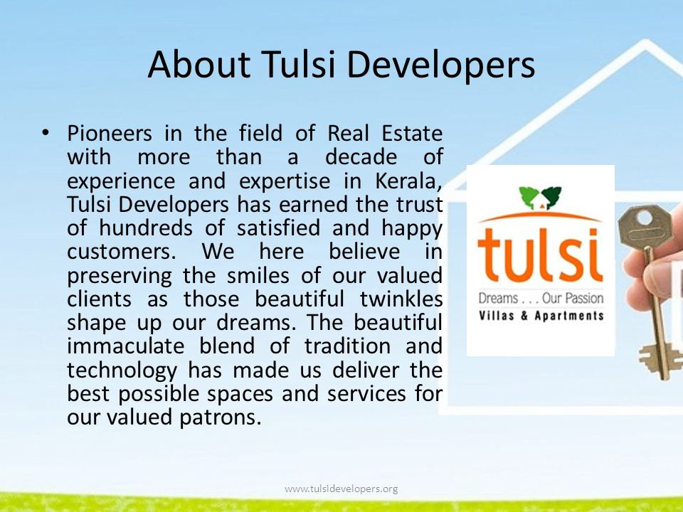 About Tulsi Developers