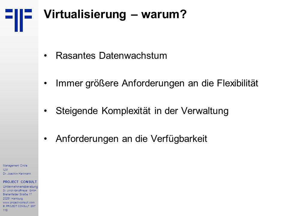 Virtualisierung – warum