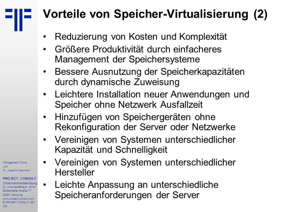 Vorteile von Speicher-Virtualisierung (2)