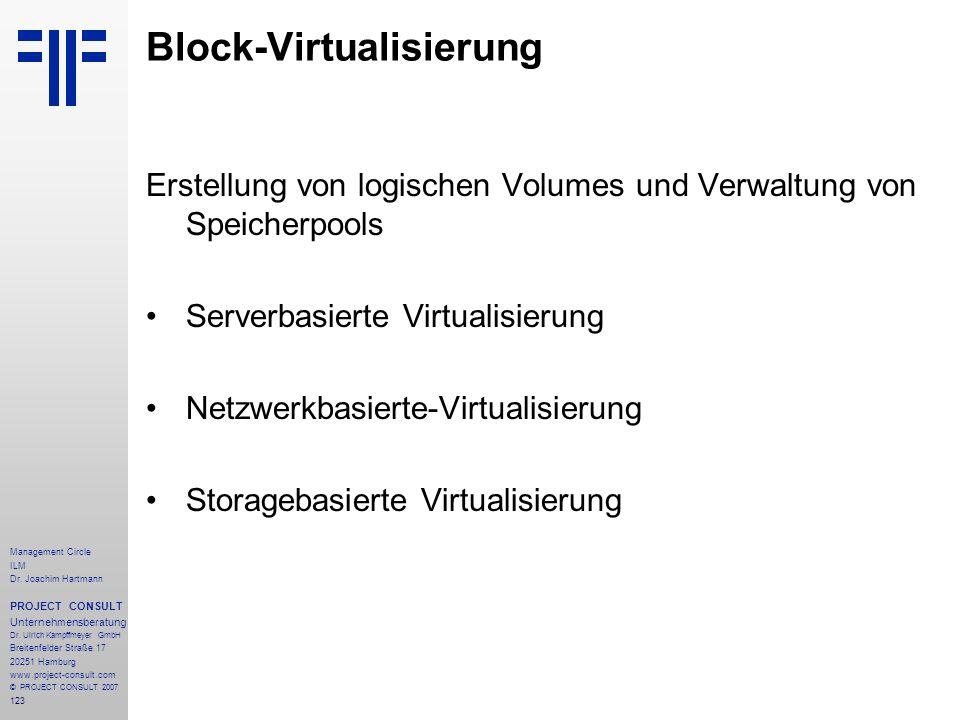Block-Virtualisierung