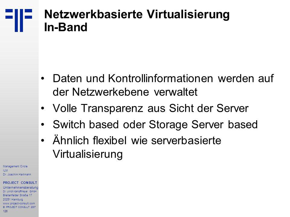 Netzwerkbasierte Virtualisierung In-Band