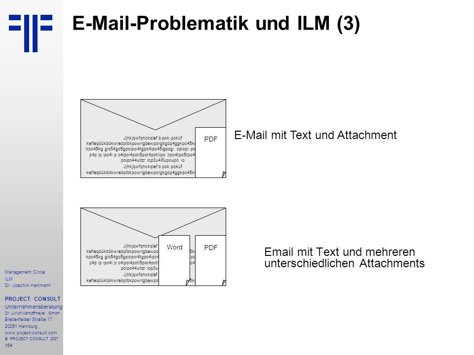 E-Mail-Problematik und ILM (3)