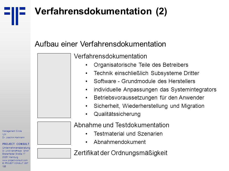 Verfahrensdokumentation (2)