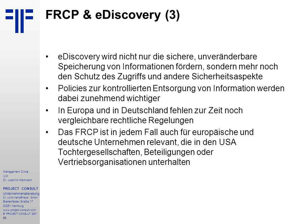 FRCP & eDiscovery (3)