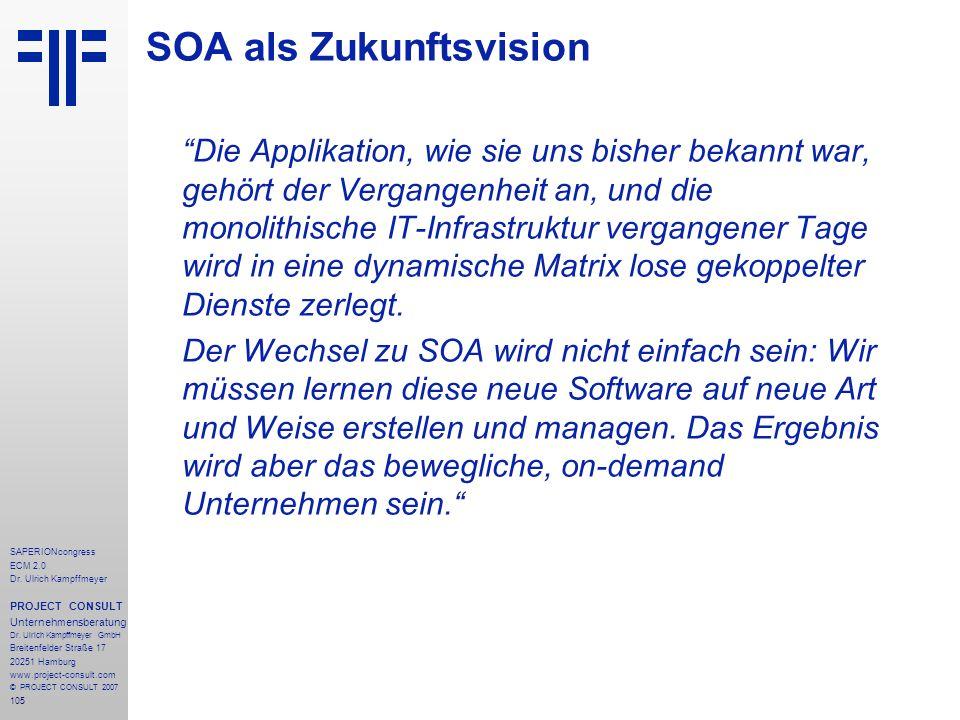 SOA als Zukunftsvision