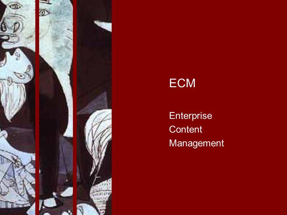 ECM Enterprise Content Management PROJECT CONSULT Unternehmensberatung