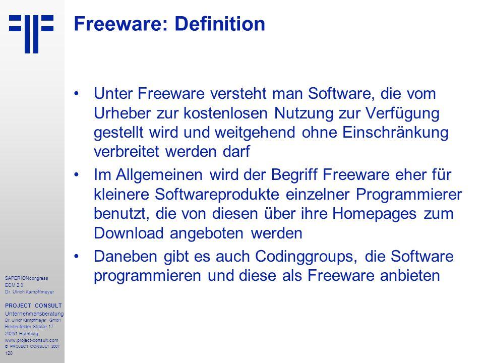 Freeware: Definition