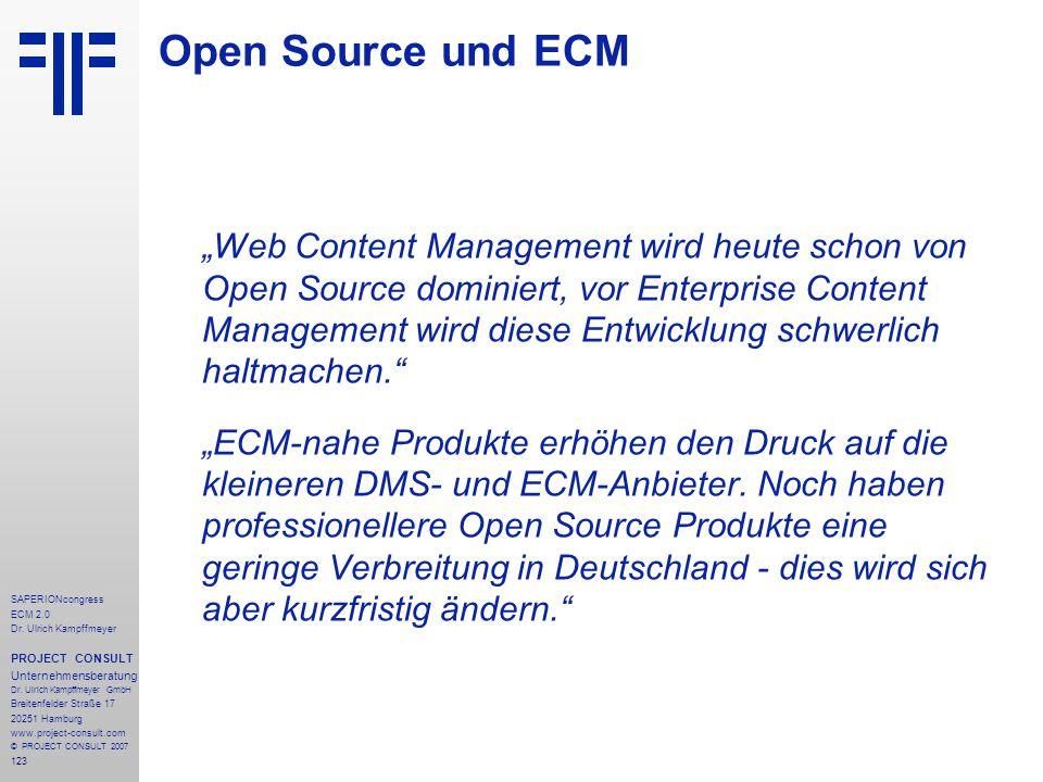 Open Source und ECM