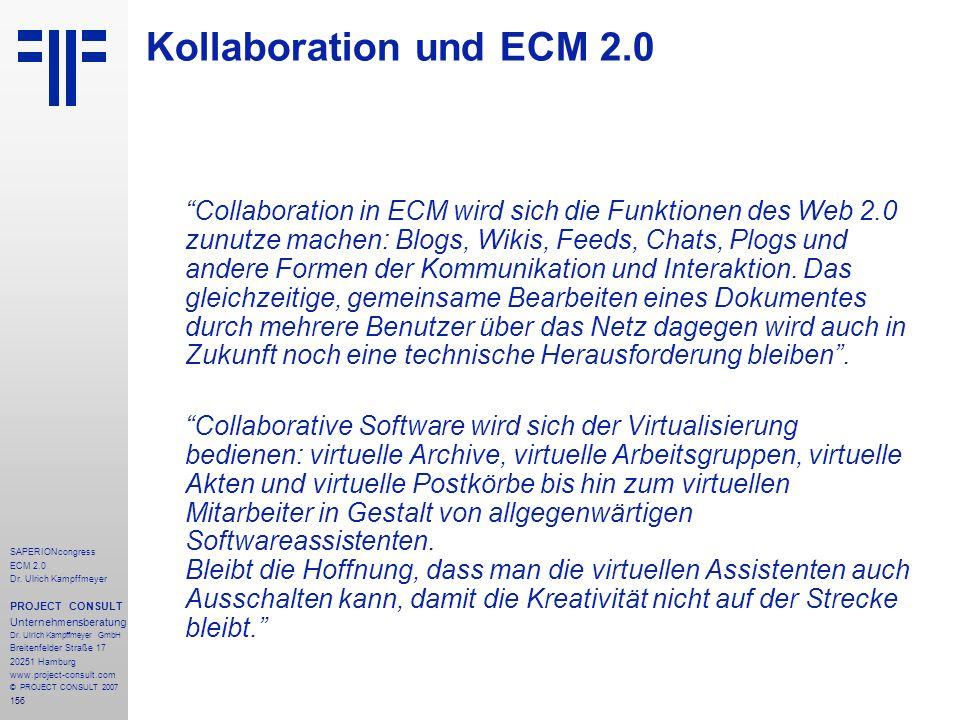 Kollaboration und ECM 2.0