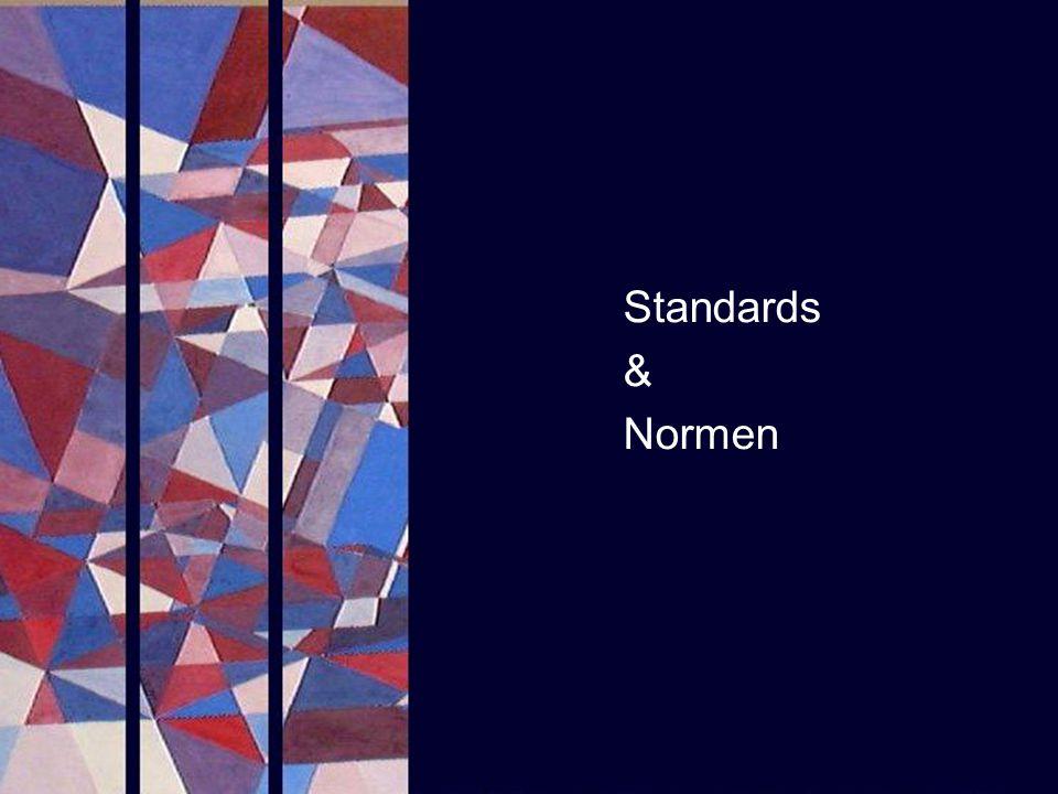 Standards & Normen PROJECT CONSULT Unternehmensberatung