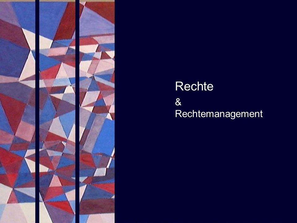 Rechte & Rechtemanagement PROJECT CONSULT Unternehmensberatung