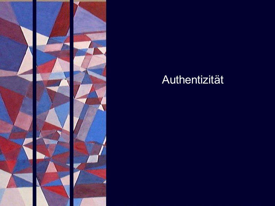 Authentizität PROJECT CONSULT Unternehmensberatung SAPERIONcongress