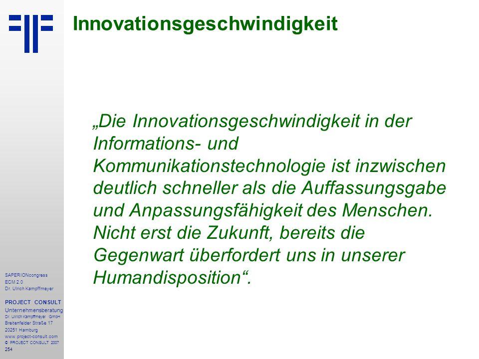 Innovationsgeschwindigkeit