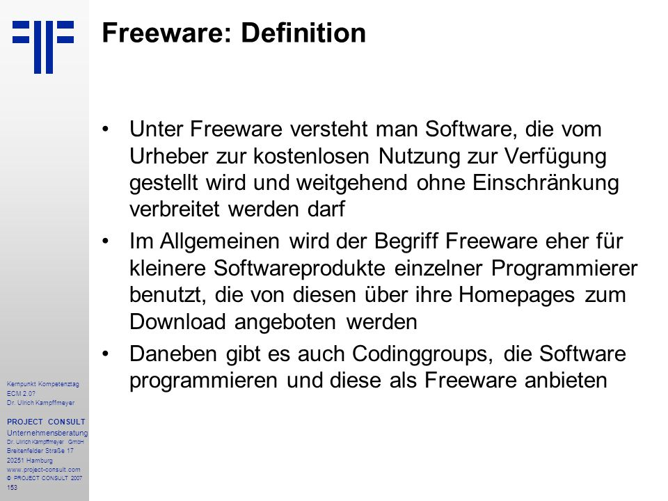 Freeware: Definition