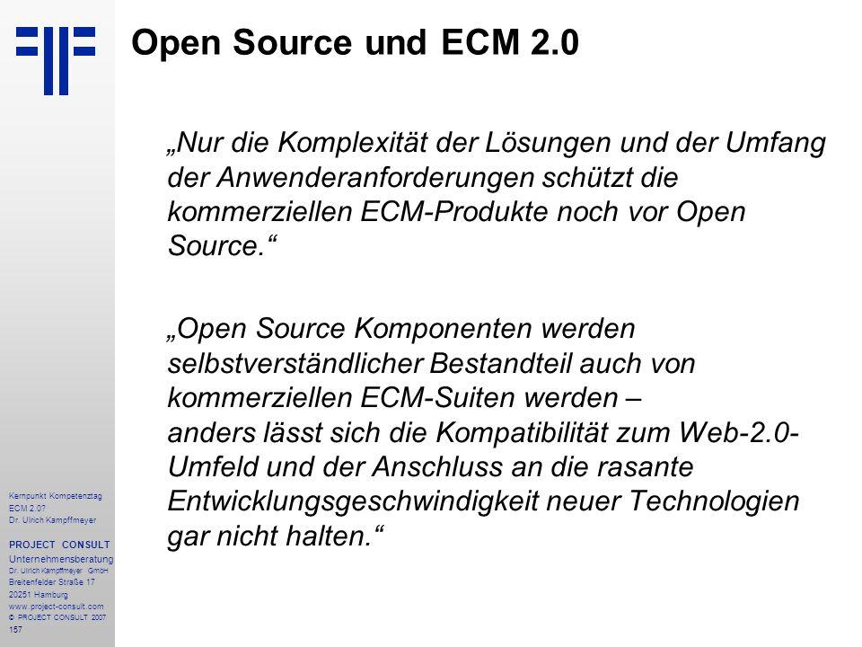 Open Source und ECM 2.0