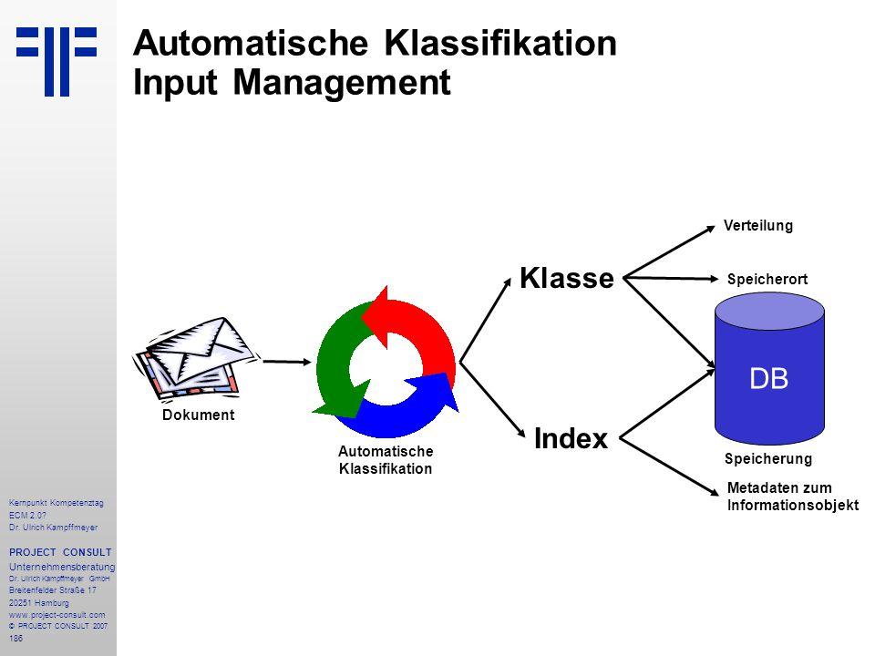 Automatische Klassifikation