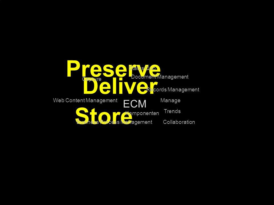 Preserve Deliver Store