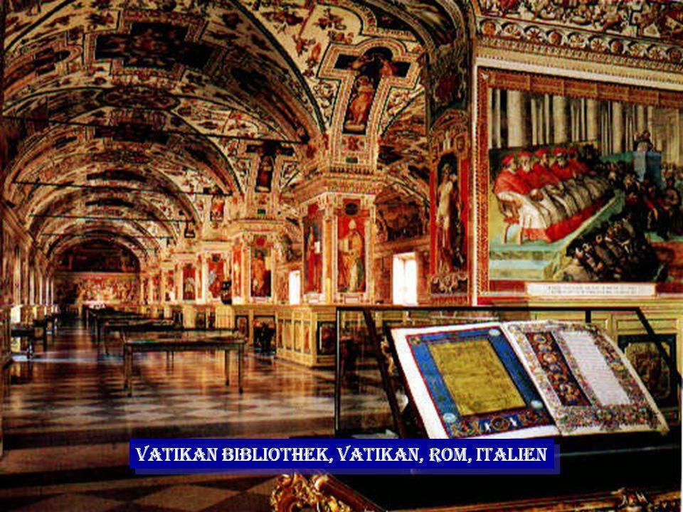 Vatikan Bibliothek, Vatikan, Rom, Italien