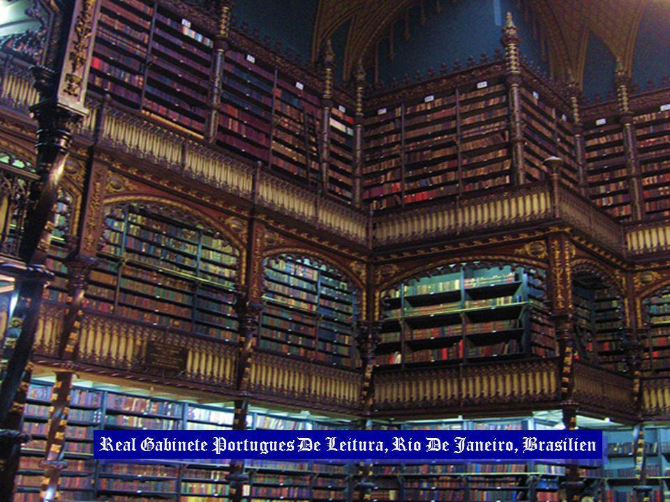 Real Gabinete Portugues De Leitura, Rio De Janeiro, Brasilien