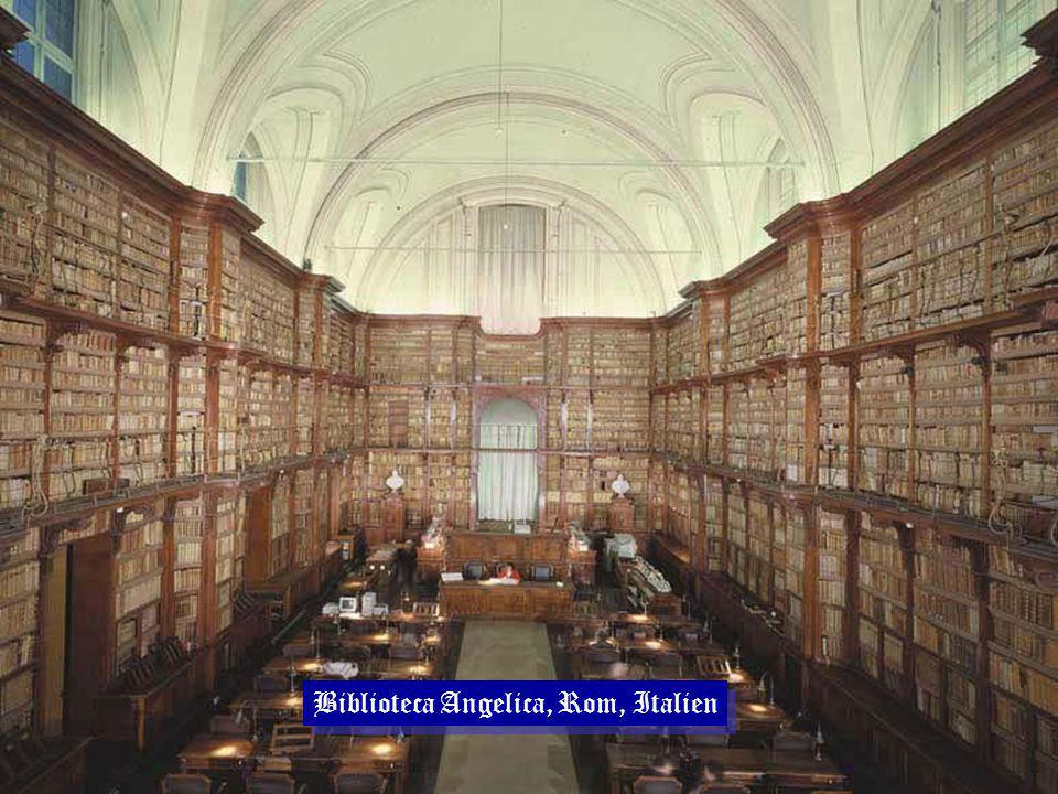 Biblioteca Angelica, Rom, Italien