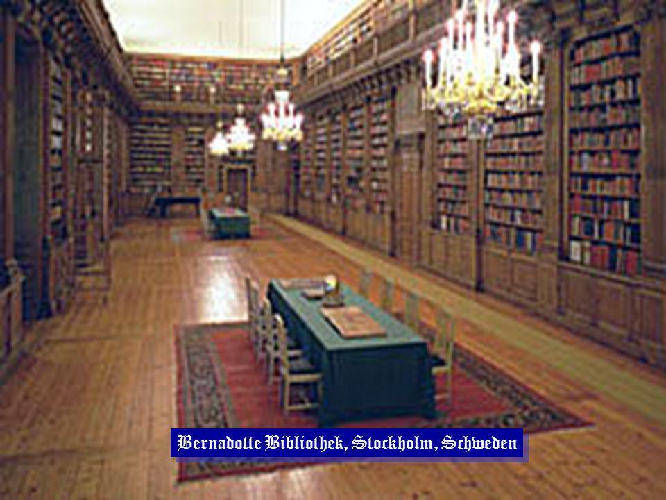 Bernadotte Bibliothek, Stockholm, Schweden