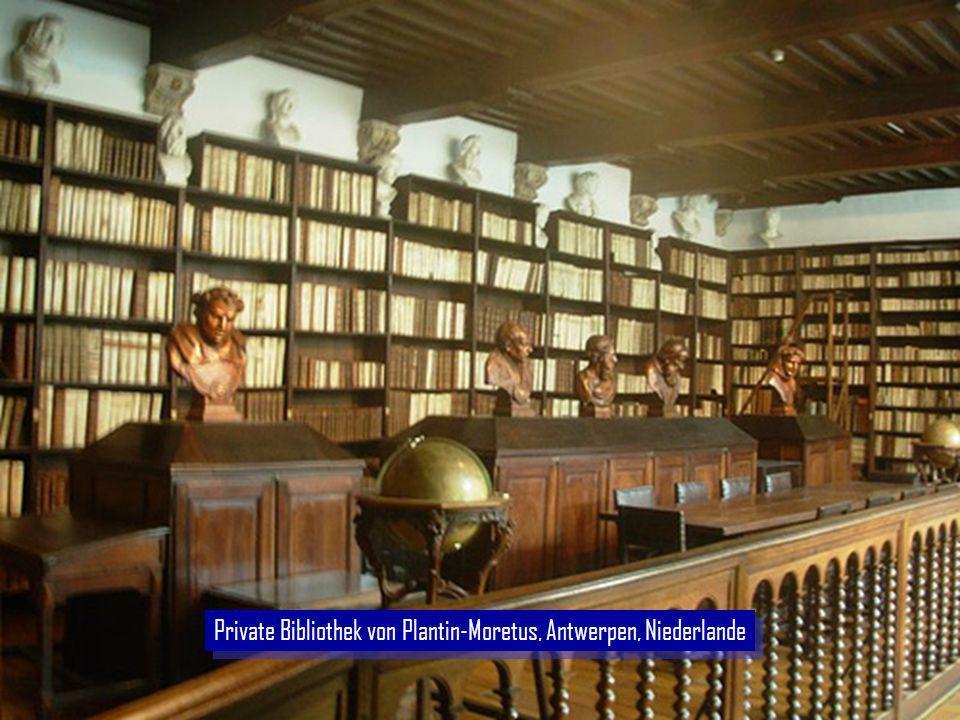 Private Bibliothek von Plantin-Moretus, Antwerpen, Niederlande