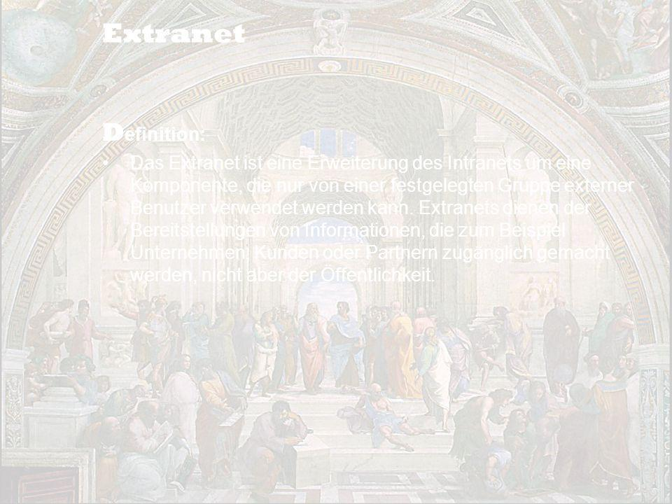 Extranet Definition: