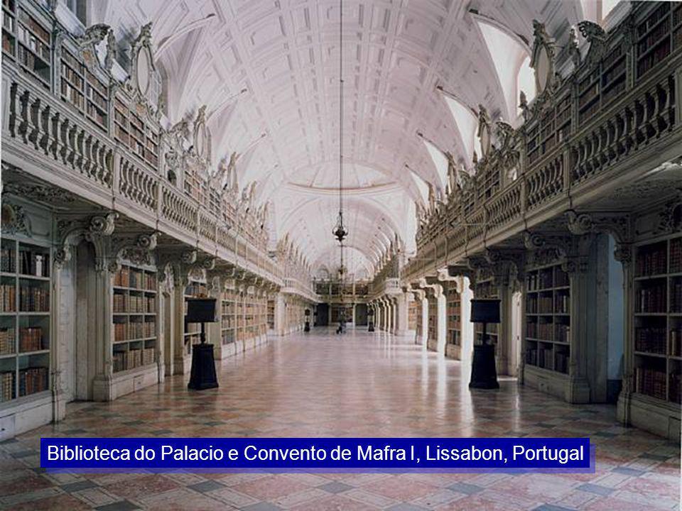 Biblioteca do Palacio e Convento de Mafra I, Lissabon, Portugal