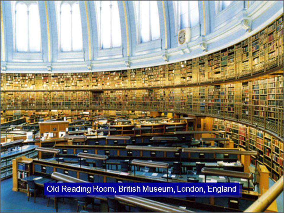 Old Reading Room, British Museum, London, England