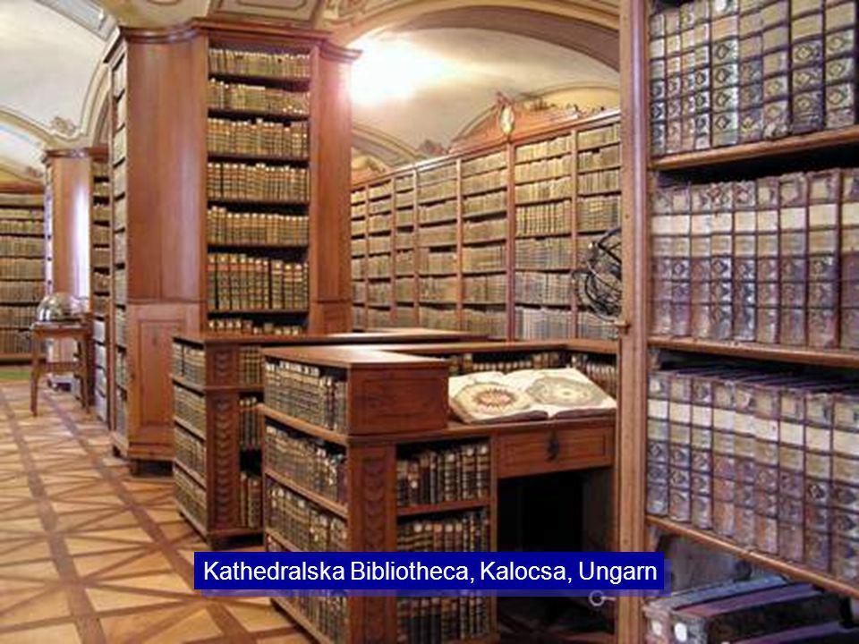 Kathedralska Bibliotheca, Kalocsa, Ungarn
