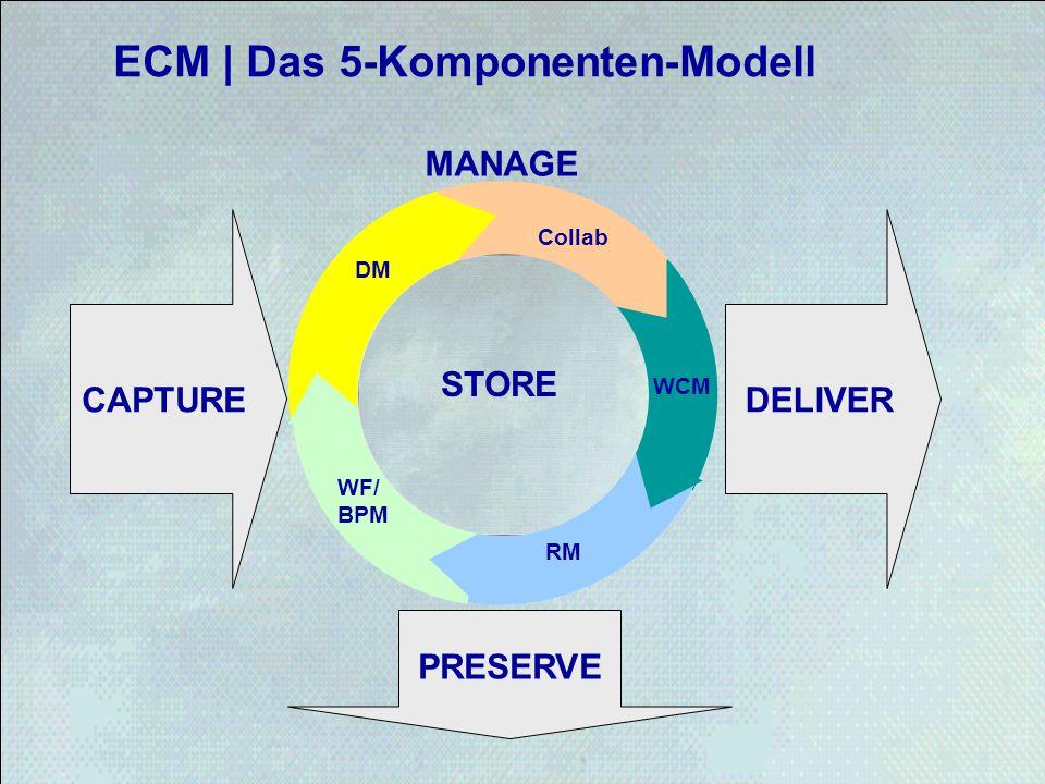 ECM | Das 5-Komponenten-Modell