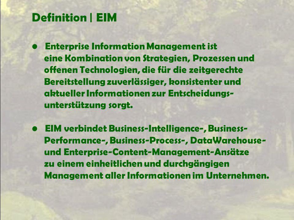 Definition | EIM