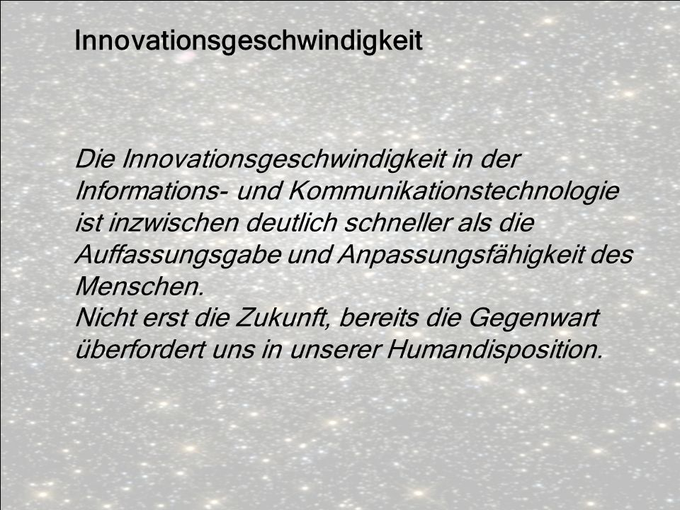 Innovationsgeschwindigkeit