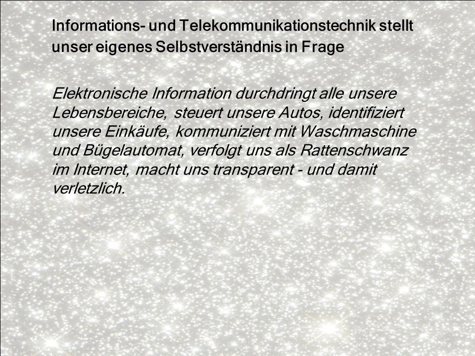 Informations- und Telekommunikationstechnik stellt