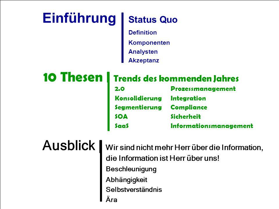 Einführung | Status Quo