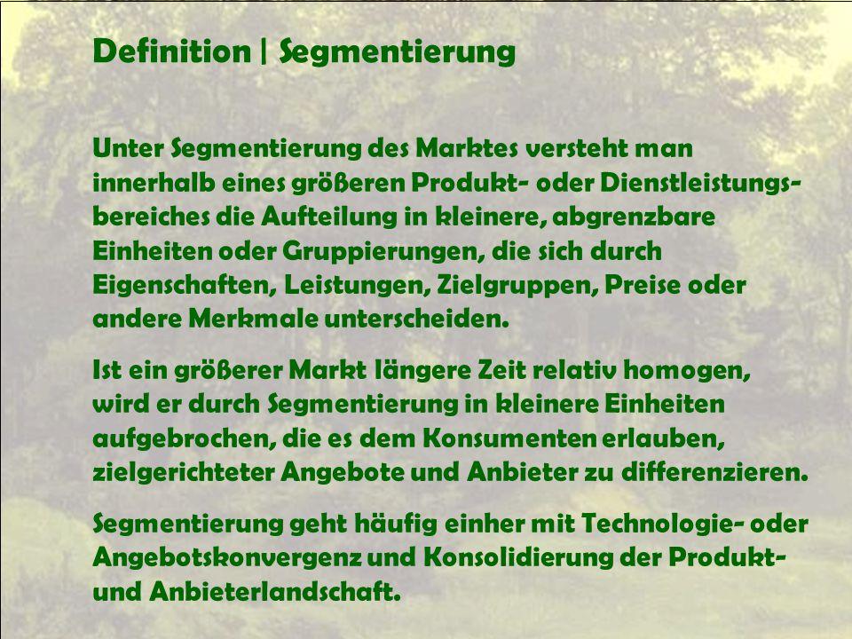 Definition | Segmentierung