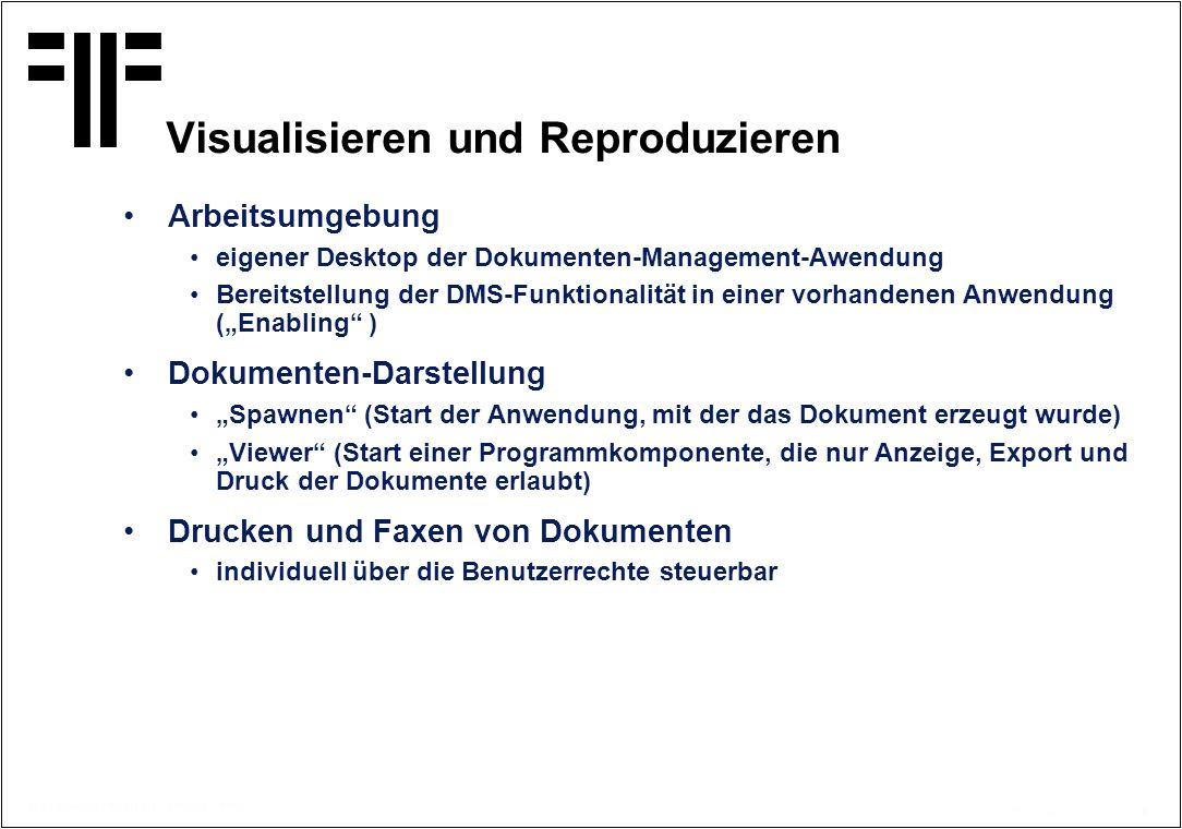 Visualisieren und Reproduzieren