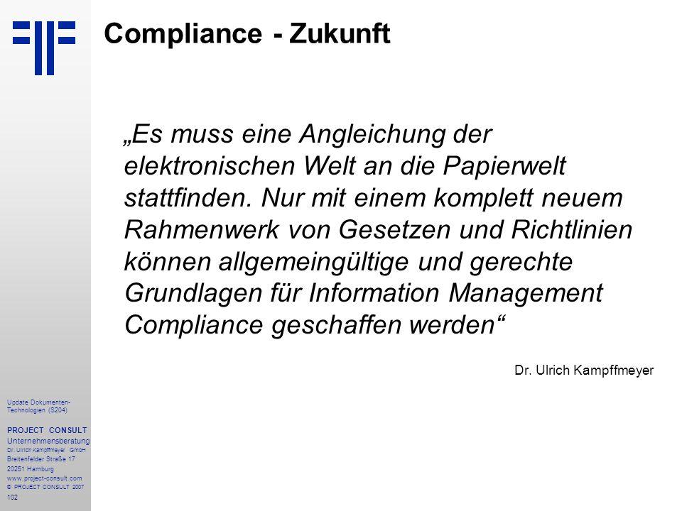 Compliance - Zukunft
