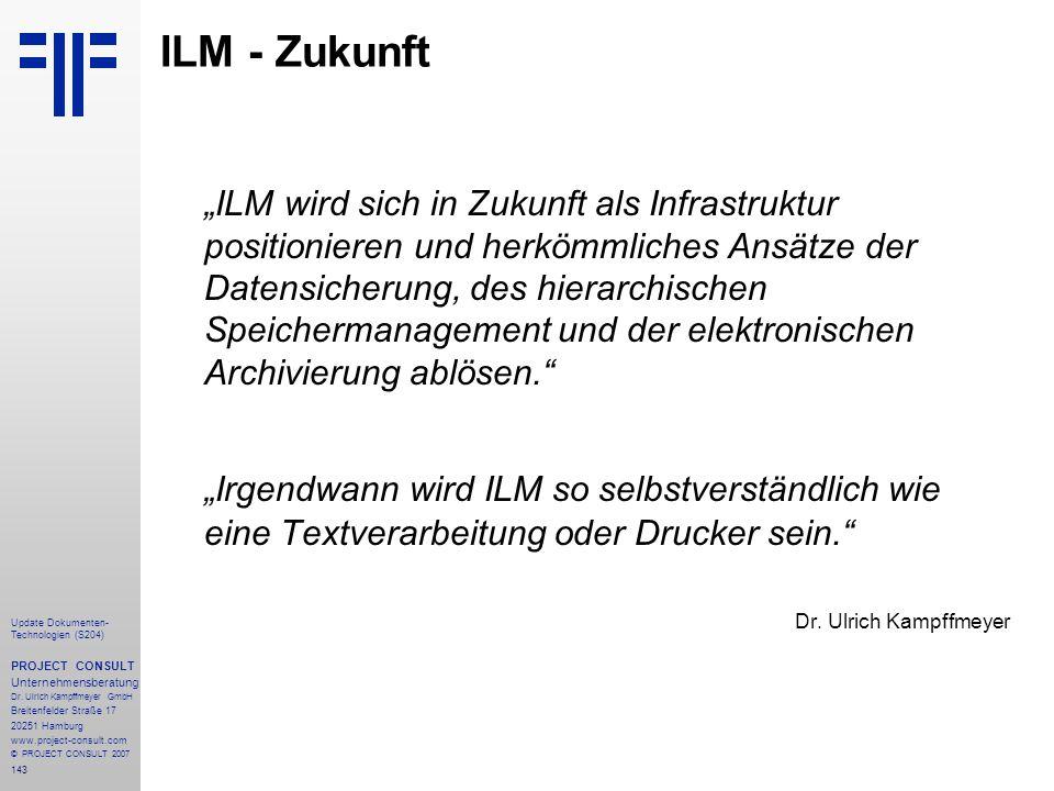 ILM - Zukunft